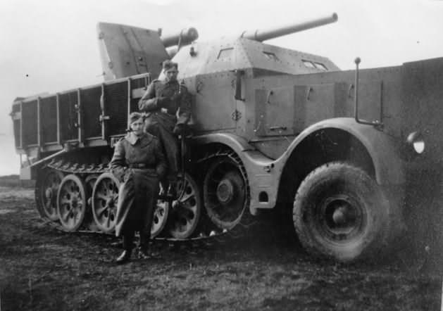 88 cm Flak 18 Sfl auf Zugkraftwagen 18t sdkfz 9