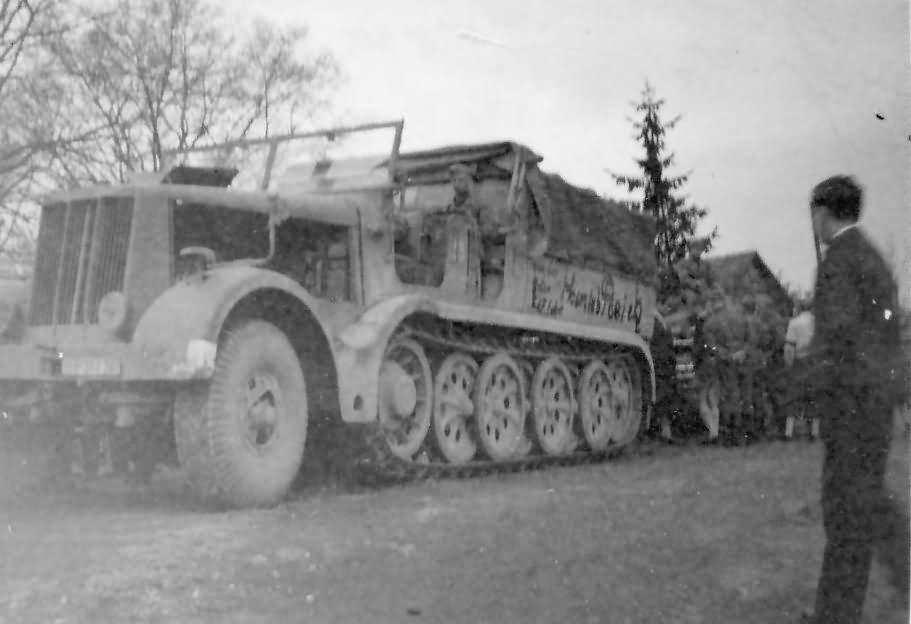 Sdkfz 9 (s. Zgkw. 18t) Famo halftrack