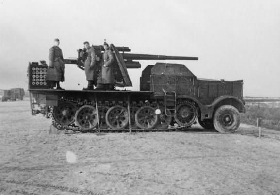Sdkfz 9 with 88 mm flak