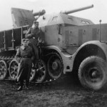 8,8 cm Flak 18 (Sfl.) auf Zugkraftwagen 18t sdkfz 9 AT Gun