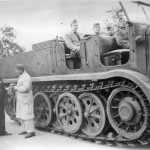 German 18 ton heavy half track FAMO
