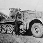 SdKfz 9 FAMO crane