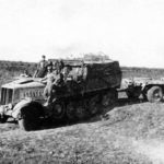 SdKfz 9 Famo with trailer