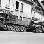 SdKfz 9 Famo Halftrack and tank transporter Sd.Ah.116 France