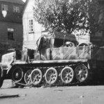 Sdkfz 9 May 1945 in Chemnitz Germany
