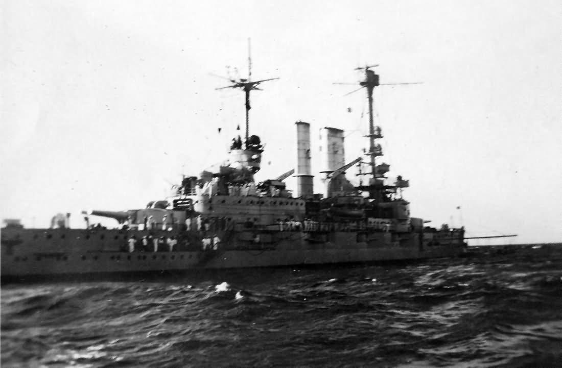 Battleship SMS Schleswig Holstein Baltic Sea