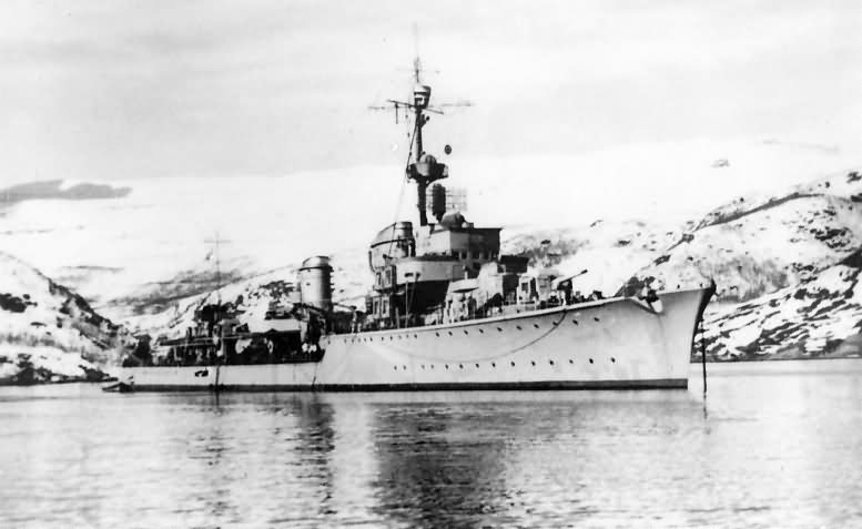 German destroyer Z 30