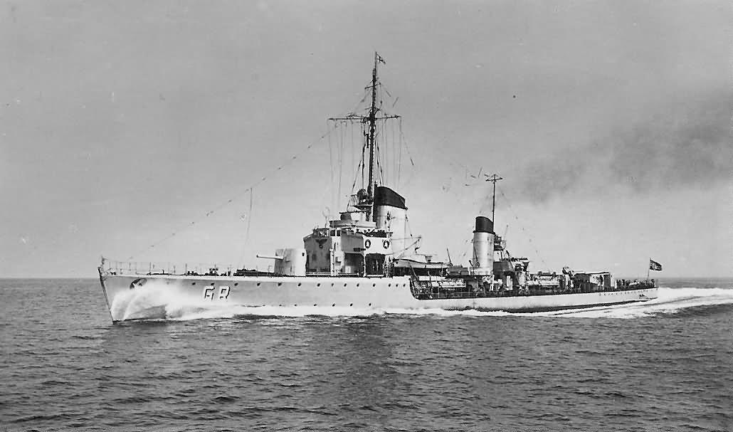 Kriegsmarine Type 23 torpedo boat Grief
