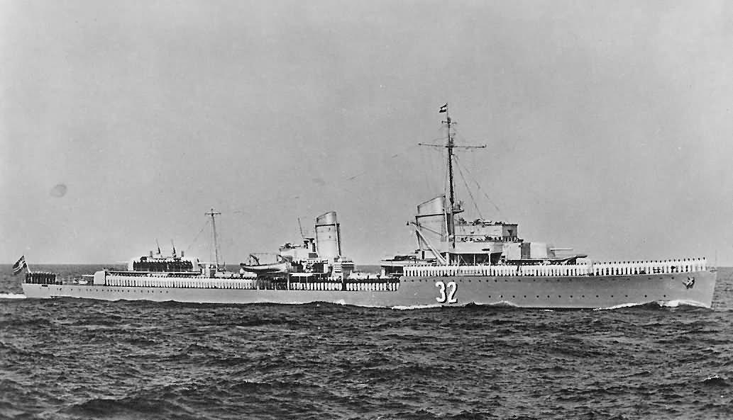 Kriegsmarine Type 34a destroyer Z15 Erich Steinbrinck