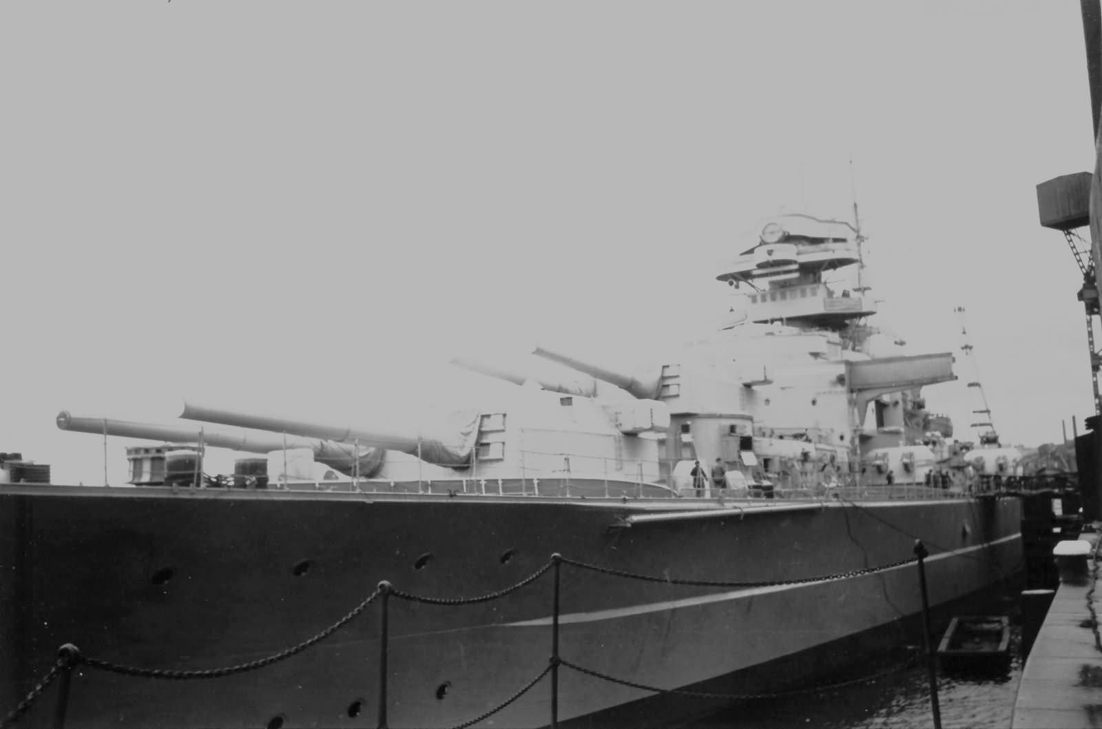 Фотографии корабля бисмарк