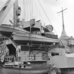 Battleship Bismarck superstructure 2