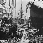 Launching of Bismarck on 14 February 1939