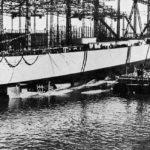 Launching of Bismarck 14 February 1939 2