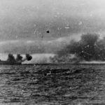 Bismarck engaging HMS Hood and HMS Prince of Wales