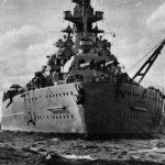 German battleship Bismarck, stern view 2