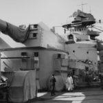 Battleship Bismarck Bruno turret