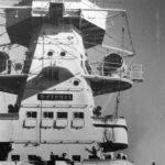 Cruiser Admiral Graf Spee superstructure