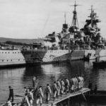 Admiral Hipper cruiser in Norway 1942