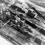 German heavy cruiser Admiral Hipper docked