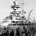 Heavy cruiser Admiral Hipper in Cuxhaven, April 6. 1940