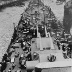 heavy cruiser Admiral Hipper in Wilhelmshaven