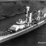 Cruiser Karlsruhe in 1929