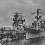 Koln and Admiral Scheer