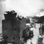 Sailors at battlestations aboard Konigsberg in 1936