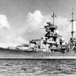 German cruiser Prinz Eugen