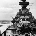The forward deck of Prinz Eugen