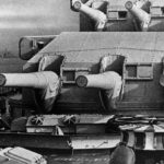 German battleship Scharnhorst – 280 mm gun turrets