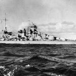 battleship Scharnhorst 1939