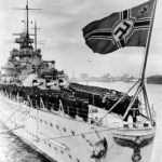 Scharnhorst ceremony, stern 1939