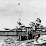 Scharnhorst and U-47 23 October 1939