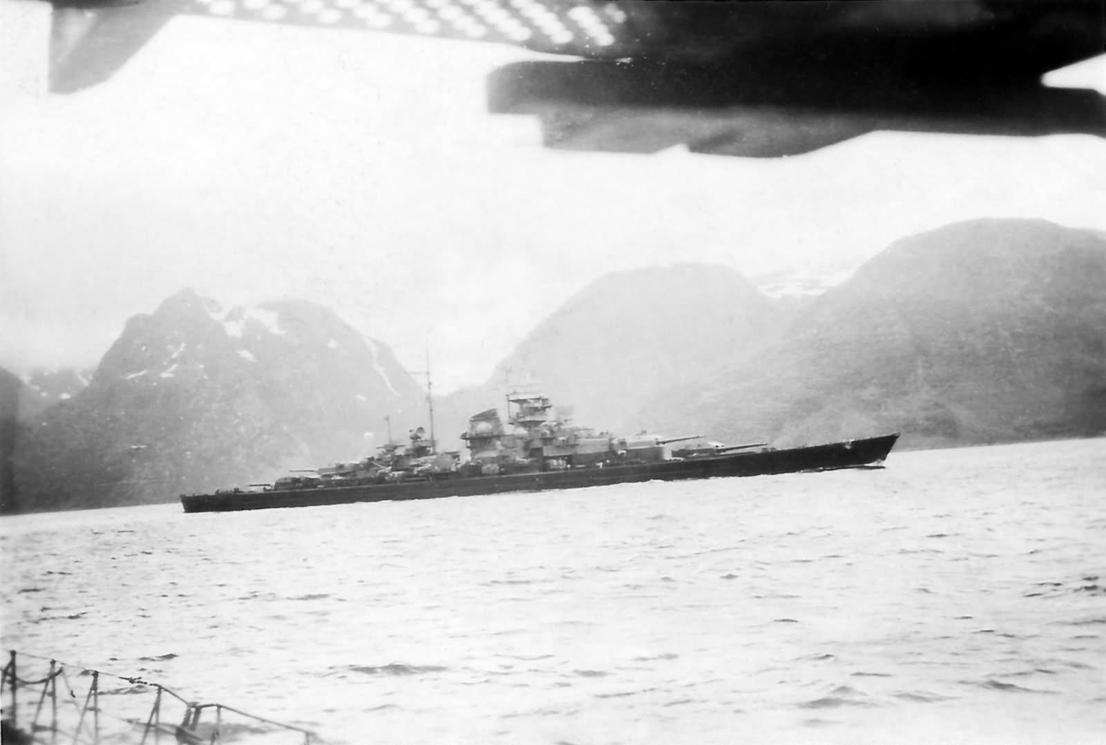 Image result for Tirpitz 1944