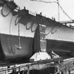 Launch of German Battleship Tirpitz in Wilhelmshaven