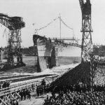Launching of Tirpitz – 1 April 1939