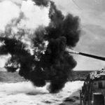 Tirpitz during firing practice