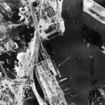 RAF reconnaissance photo showing Graf Zeppelin at Gotenhafen (Gdynia) – 6 February 1942