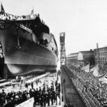Launching of Graf Zeppelin – 8 December 1938