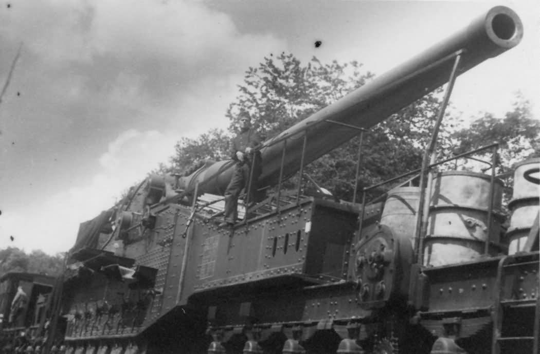 274 mm Mle 1917 railway gun