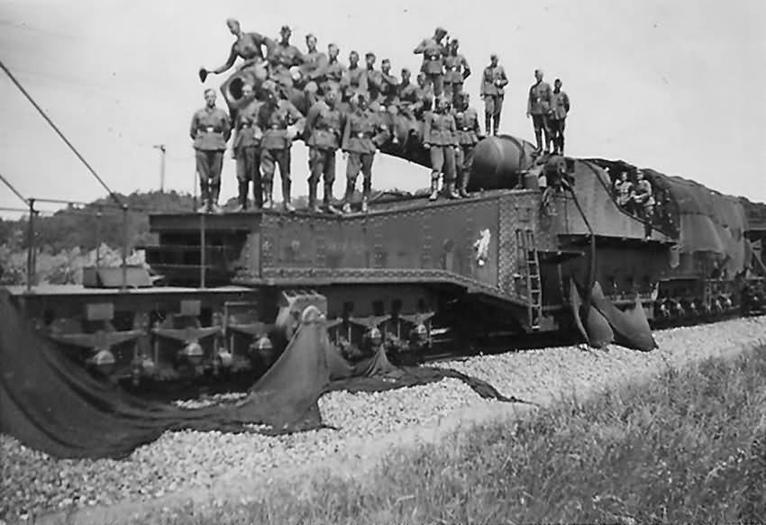 320 mm mle 1917 railway gun