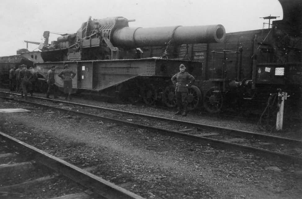 400 mm St. Chamond Mle 1915 1916 french railway howitzer