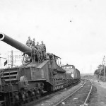 274 mm Mle 1917 Railway gun France