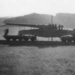 28 cm Schwere Bruno german railway gun