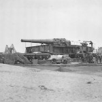 28 cm schwere Bruno railway gun France