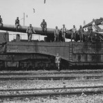 340 mm Mle 1912 Railway Gun Railway Gun Belfort France