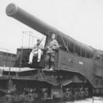 340 mm Mle 1912 railway artillery