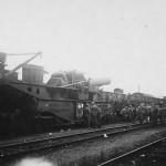 400 mm St. Chamond Mle 1915 1916 railway howitzer