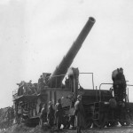 Belgian ex German Krupp 28 cm SK L/40 Bruno railway gun 1940